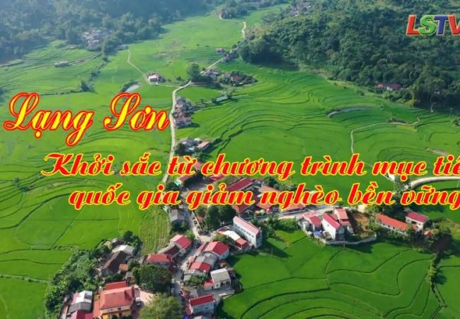 Lạng Sơn - Khởi sắc từ chương trình mục tiêu quốc gia giảm nghèo bền vững